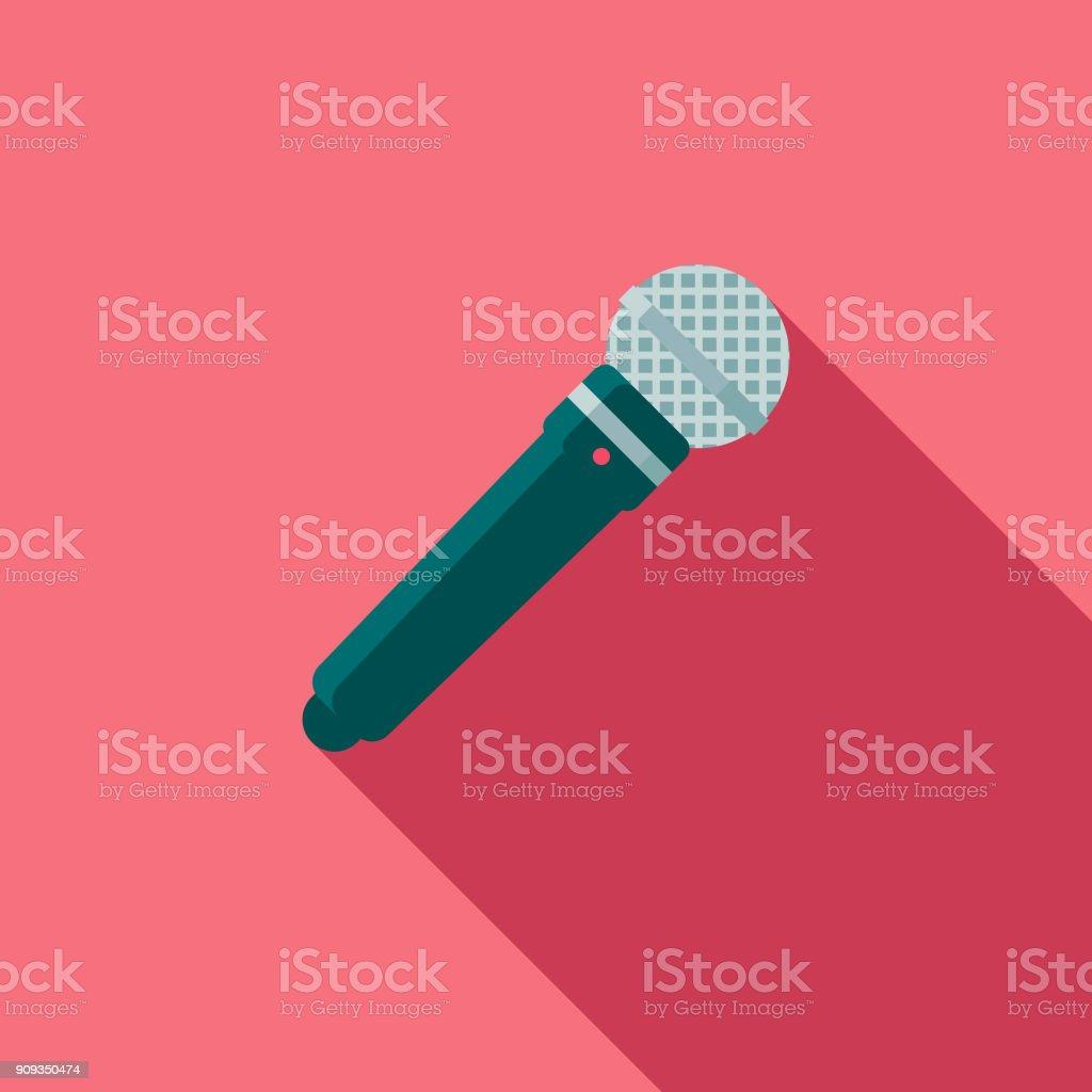 Wedding Flat Design Speech Icon with Side Shadow