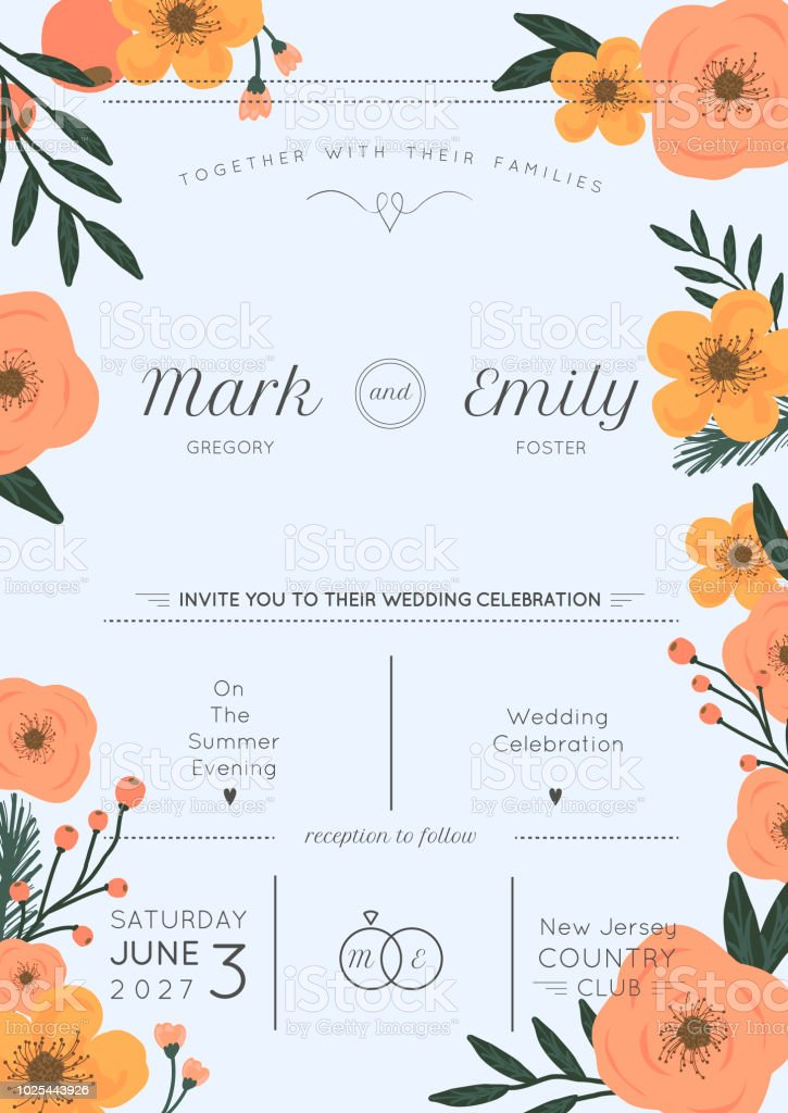 Wedding floral bridal shower invitation with vintage style flowers wedding floral bridal shower invitation with vintage style flowers wedding retro royalty free filmwisefo
