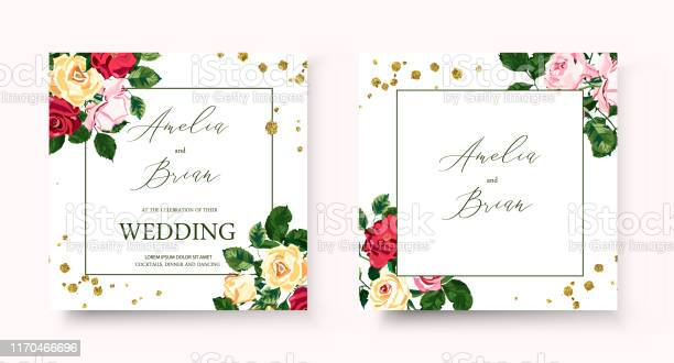 Wedding floral golden geometric invitation card with flowers roses vector id1170466696?b=1&k=6&m=1170466696&s=612x612&h=mz9lyvp7illql qebkn29ux6z7e2auwnttc7bhs8 qq=