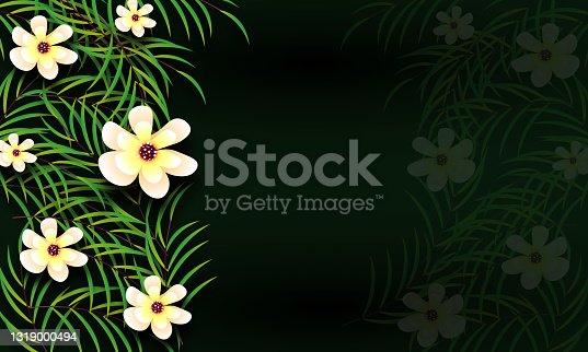 istock wedding floral golden invitation card save the date design stock illustration 1319000494