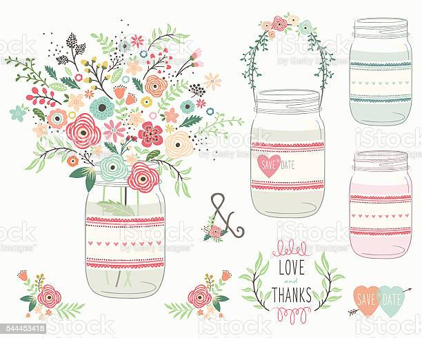 Wedding flower mason jar illustration vector id544453418?b=1&k=6&m=544453418&s=612x612&h=z6enzqsarz4vyciucizfnb n5ylop6kdj3iwwe3qp8q=