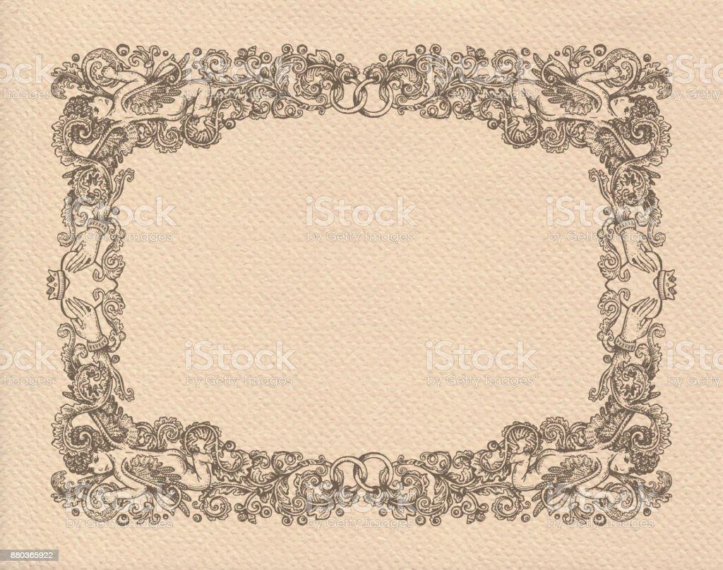Bastidor de bodas - ilustración de arte vectorial