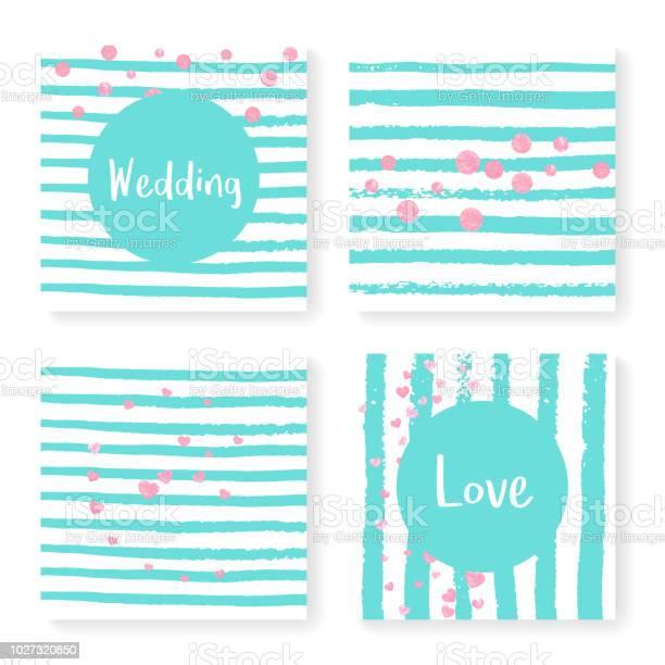 Wedding glitter confetti on stripes invitation set vector id1027320850?b=1&k=6&m=1027320850&s=612x612&h=qr6fatgbhkjopo0eag7pf9sgagwhctrfwsto2qsqosy=