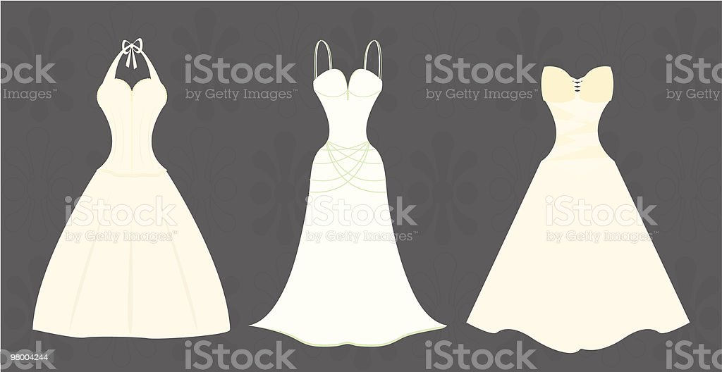 Wedding Gowns royalty-free wedding gowns stock vector art & more images of bridal shop
