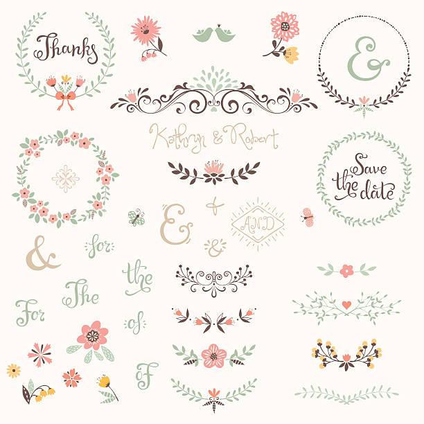 グラフィックセットウェディング - 結婚式点のイラスト素材/クリップアート素材/マンガ素材/アイコン素材