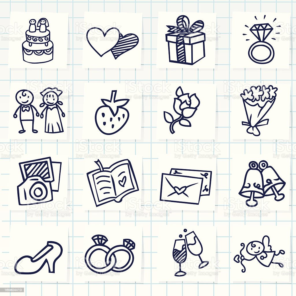 Wedding Icon royalty-free wedding icon stock vector art & more images of adult