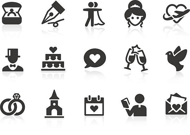 hochzeit symbole - kirchenschmuck stock-grafiken, -clipart, -cartoons und -symbole