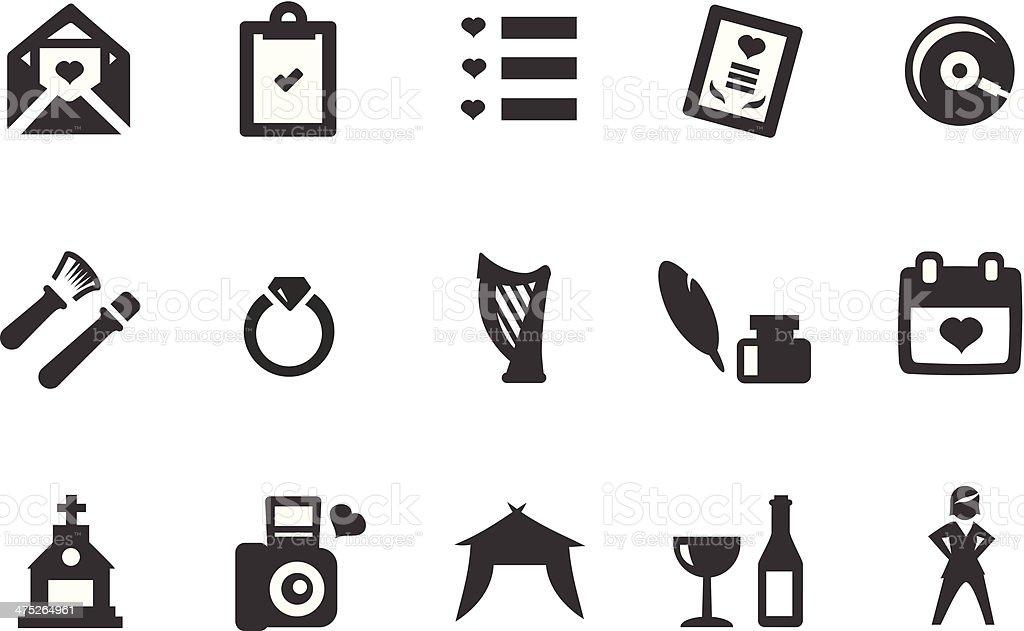 Hochzeit Symbole Stock Vektor Art Und Mehr Bilder Von Alkoholisches