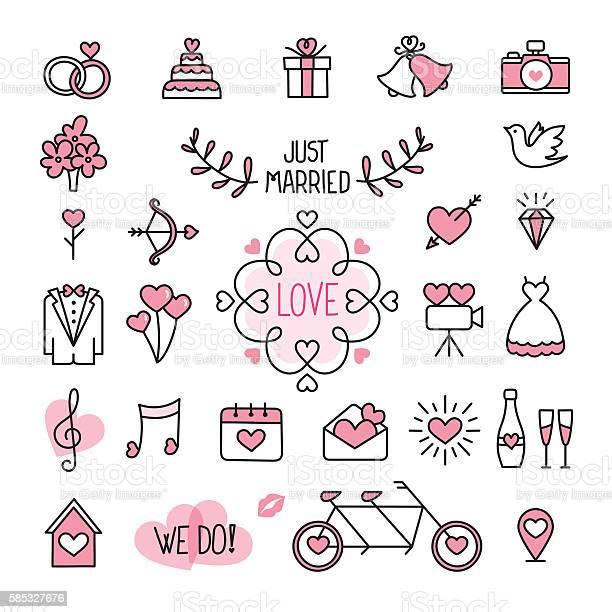 Wedding icons vector id585327676?b=1&k=6&m=585327676&s=612x612&h=vo98 zun6 vuofnv ljghuu3rw9llot5h4ipadeen5y=