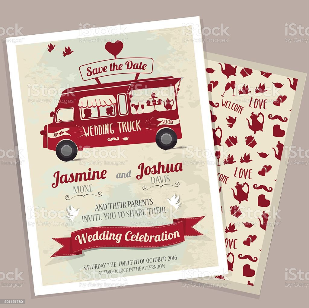Enchanting Art Nouveau Wedding Invitations Image - Invitations and ...