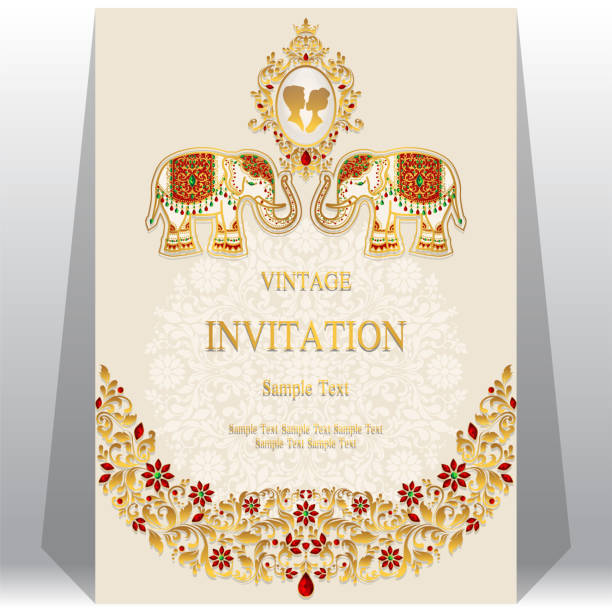Best Indian Wedding Illustrations, Royalty-Free Vector ...