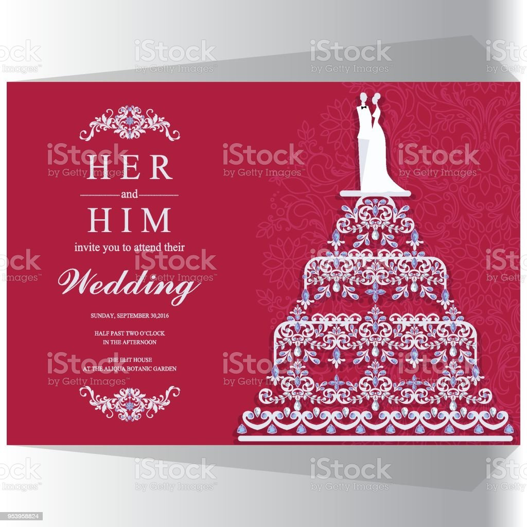 Outstanding Wedding Invite Card Illustration - Invitations and ...