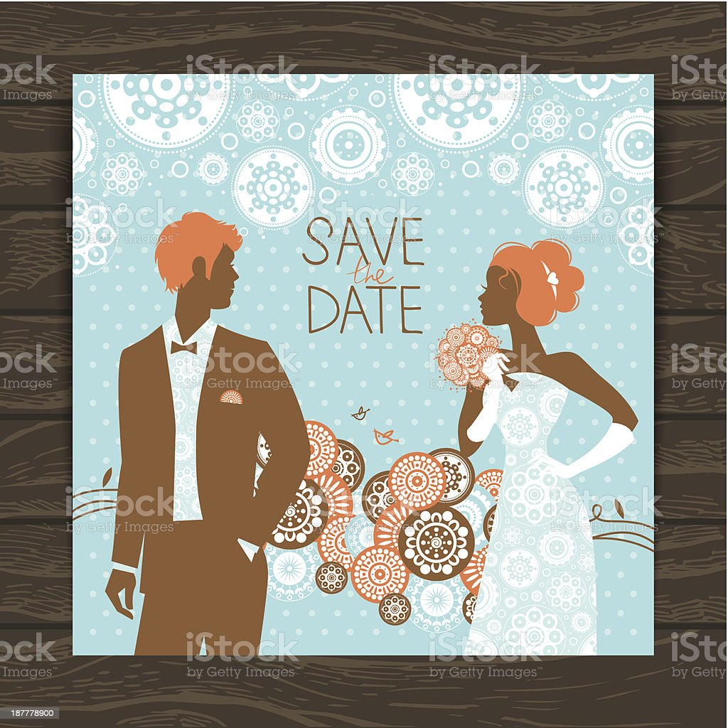 Wedding Invitation Card Stock Vector Art More Images Of Adult