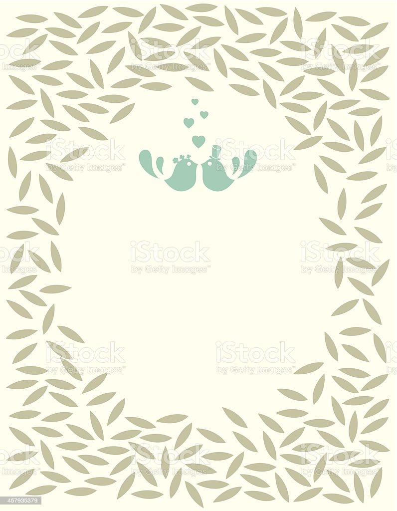 Wedding invitation card royalty-free wedding invitation card stock vector art & more images of animal