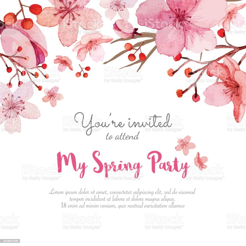 Wedding Invitation Card Stock Vector Art & More Images of Art ...