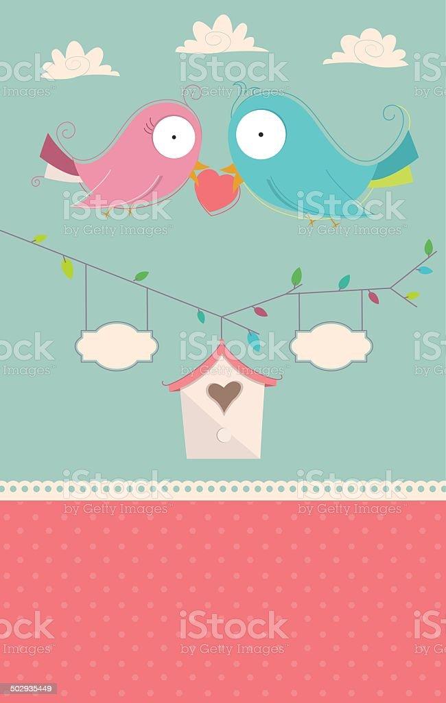 Wedding Invitation Card Vector royalty-free stock vector art