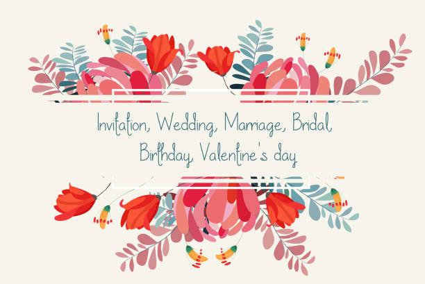結婚式招待状花。ロマンチックな牡丹の背景 - ガーデンパーティ点のイラスト素材/クリップアート素材/マンガ素材/アイコン素材