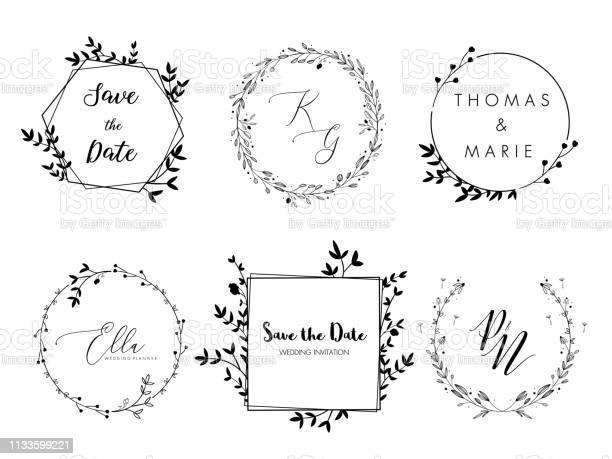 Wedding invitation floral wreath minimal design vector template with vector id1133599221?b=1&k=6&m=1133599221&s=612x612&h=n50kiz7uqkri1sjc2lph727kkccmtqf6igrdhxtfkpo=