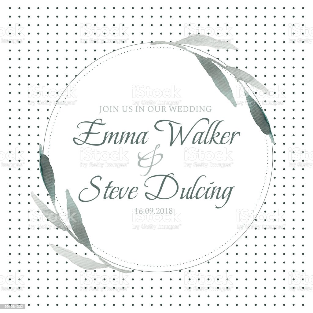 Wedding Invitation Letter Template Stock Illustration Download Image Now Istock