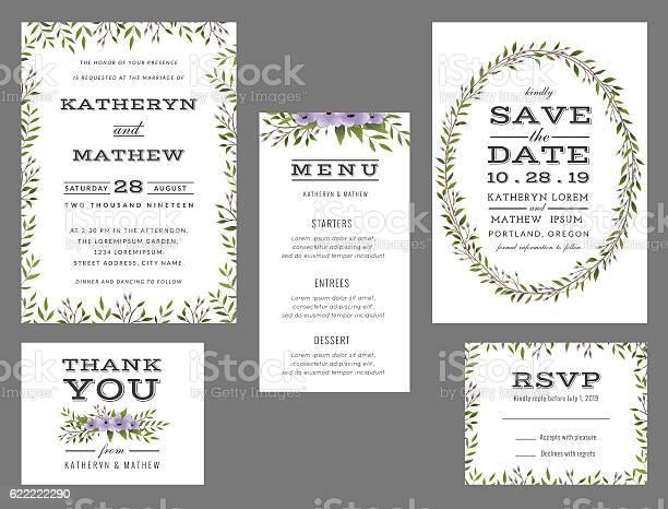 Wedding invitation suite template vector id622222290?b=1&k=6&m=622222290&s=612x612&h=oejffhgrdm6n runuxdvxzqkumy6 flln54a20rtp8g=