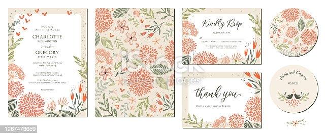 istock Wedding Invitation Suite_01 1267473659