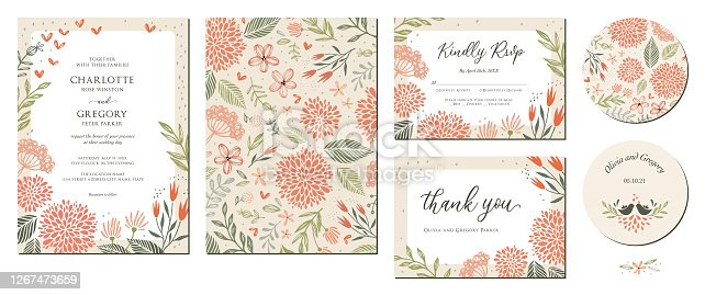 istock Wedding Invitation Suite_01 1267473659