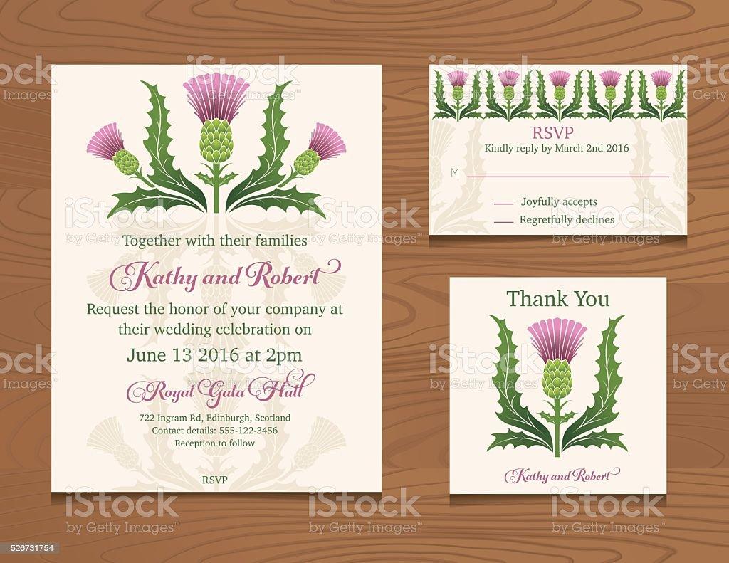 Wesele Zaproszenie Wzór Z Kwiatów Na Tle Z Drewna Stockowe Grafiki