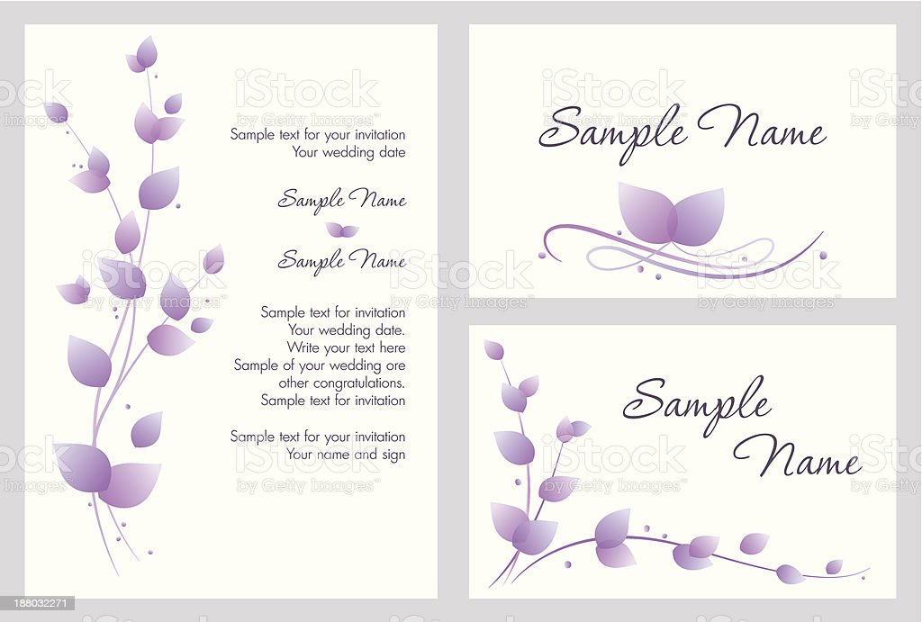 Wedding invitation royalty-free wedding invitation stock vector art & more images of anniversary