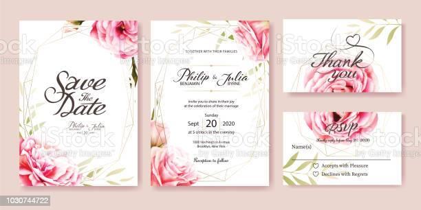 Wedding invitation vector pink rose olive leaves watercolor style vector id1030744722?b=1&k=6&m=1030744722&s=612x612&h=qu1uf4md8jc24tzo e715l3fsbvqs7b7lhevdgvkuoe=
