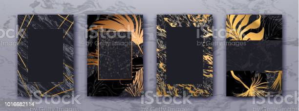 Wedding invitation with gold palm leaves black marble template vector id1016682114?b=1&k=6&m=1016682114&s=612x612&h=syjtkwnewugfn9idkbhvycvoqaldab f1dji6hrtekq=