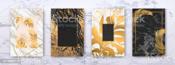 Wedding invitation with gold palm leaves black white marble template vector id1016682170?b=1&k=6&m=1016682170&s=612x612&h=jbv3r2x9h6fzefthkistwjqlsoxtictnupdfcczznls=