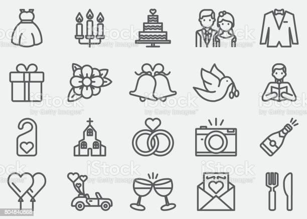 Wedding line icons vector id804840868?b=1&k=6&m=804840868&s=612x612&h=c0lg6ph05bo3pb4xzw5dmb21krc6qind7hxh8exokug=