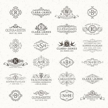 Wedding Logos and Monograms