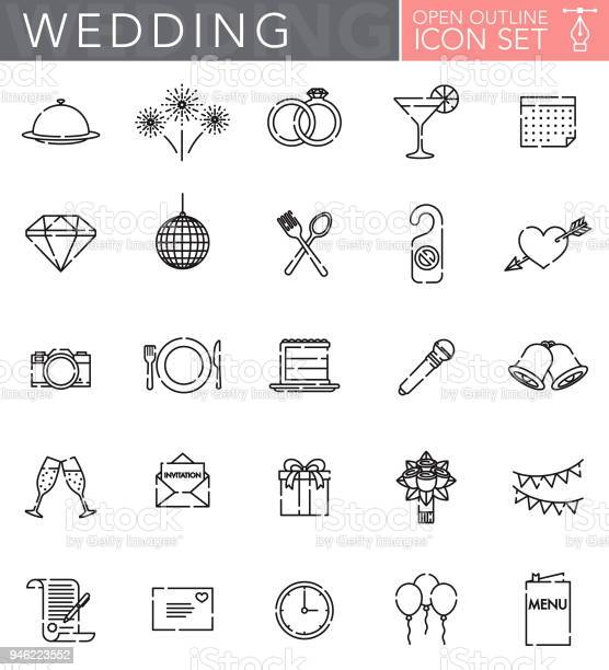 Wedding open outline icon set vector id946223552?b=1&k=6&m=946223552&s=612x612&h=pap  ht4h0n4fq7uj9w5njn2igdfuf  wch78 tzzgy=