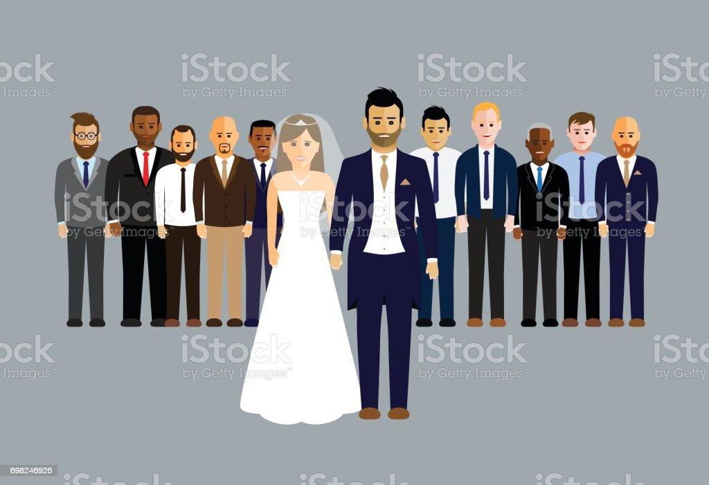 Hochzeit Party Stock Vektor Art Und Mehr Bilder Von Altertumlich
