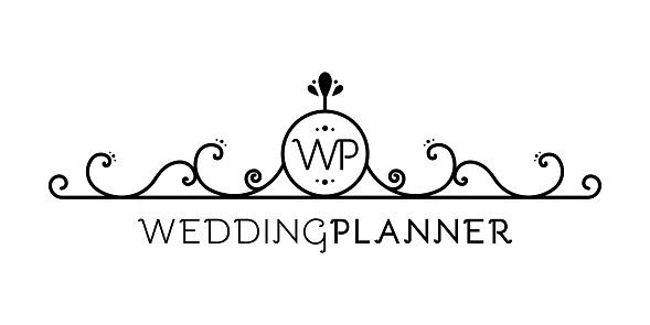 Vector of creative planning sign illustration design over ... |Event Planner Symbol