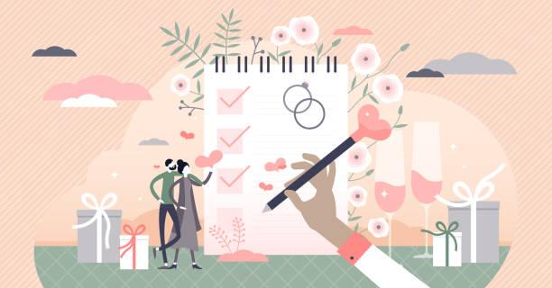 806 Wedding Planning Illustrations & Clip Art - iStock