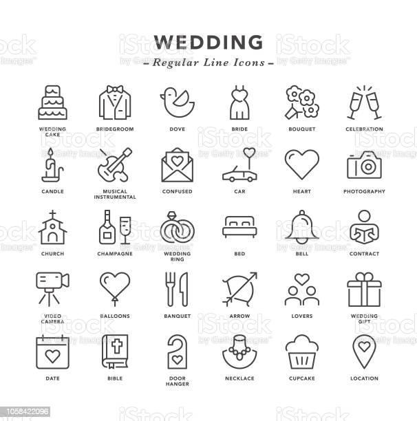 Wedding regular line icons vector id1058422096?b=1&k=6&m=1058422096&s=612x612&h=vm9268hsqz9fqzhppi zbend unczaf7yui9d0zw9fa=