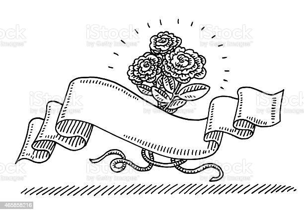 Free drawing of rose Images, Pictures, and Royalty-Free