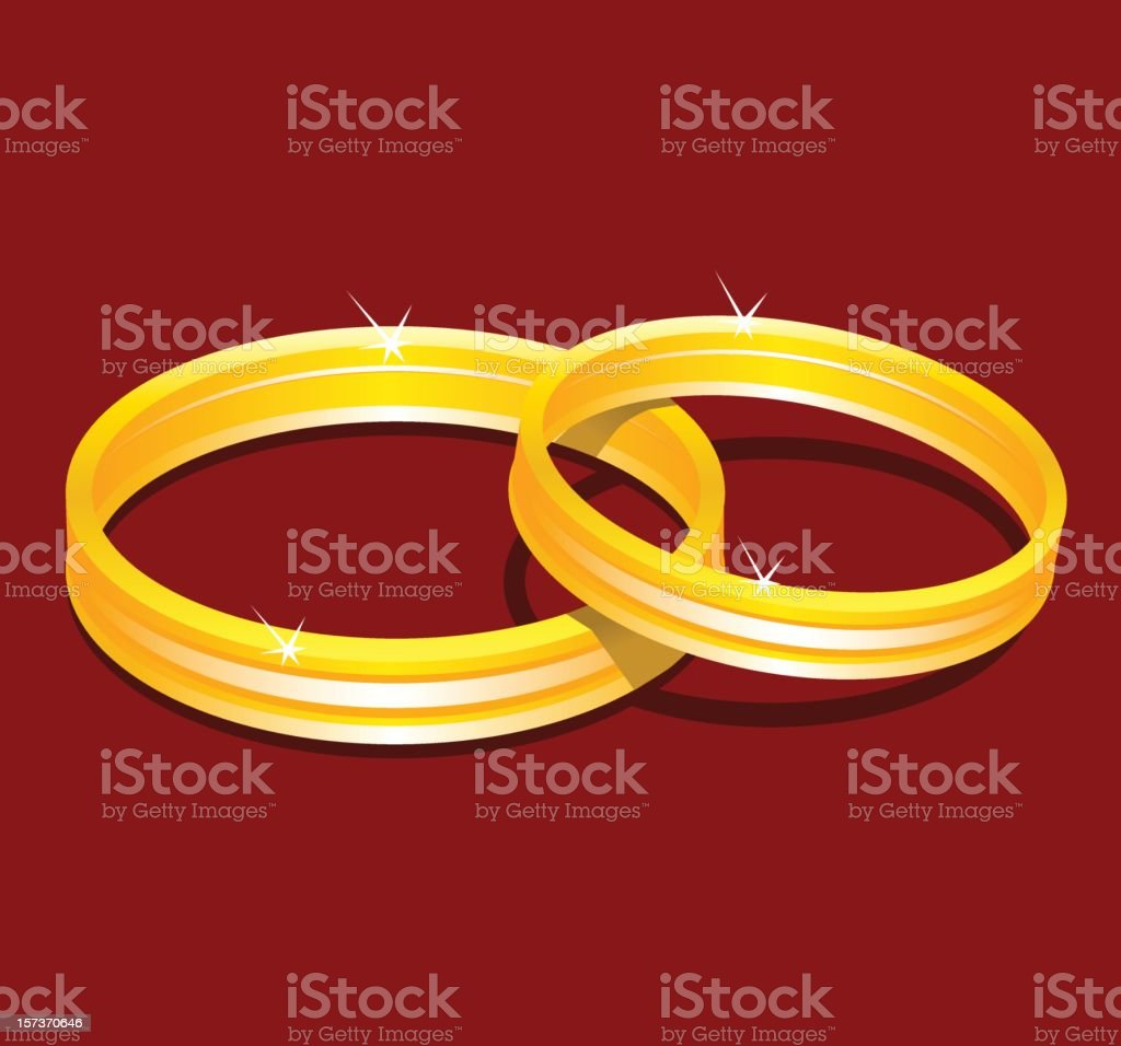 Wedding Ring royalty-free stock vector art