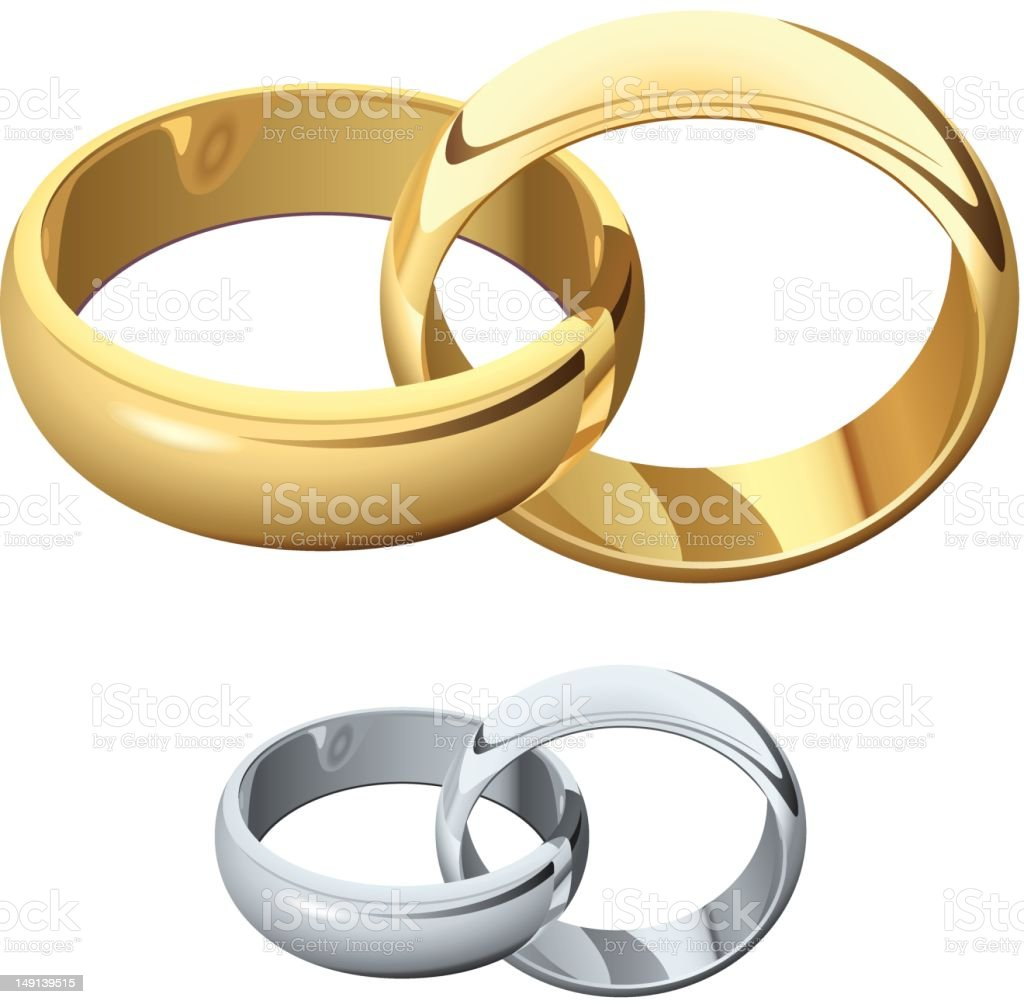 Royalty Free Wedding Ring Clip Art, Vector Images ...