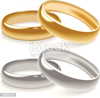 istock Wedding Rings 455594401