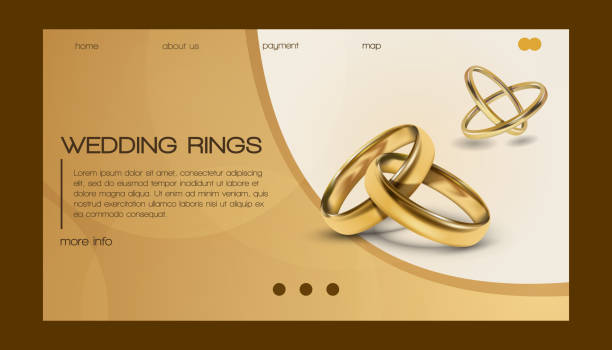 Royalty Free Funny Wedding Rings Clip Art Vector Images