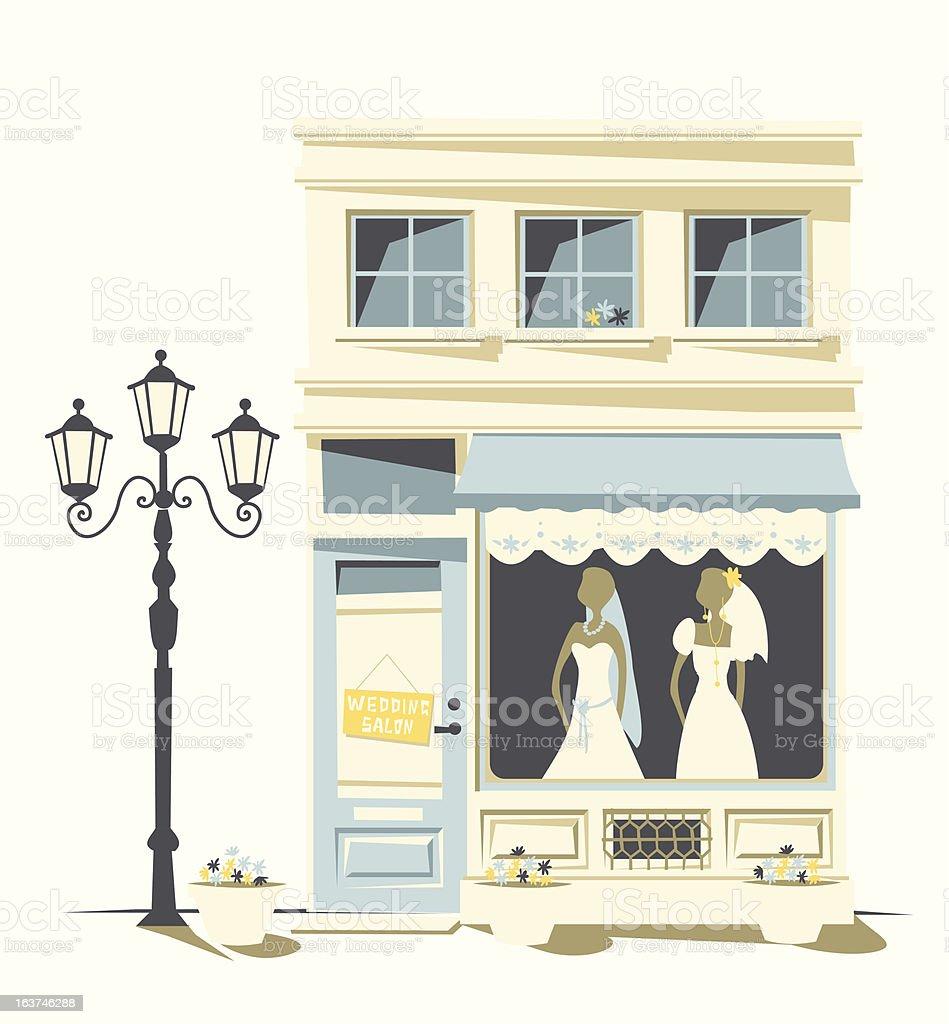 wedding Salon royalty-free wedding salon stock vector art & more images of boutique