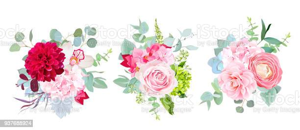 Wedding seasonal flowers vector design bouquets vector id937688924?b=1&k=6&m=937688924&s=612x612&h=bmbxh3hi 5je3s wn9r0gwq4kly5dl3ljjwddreei7s=
