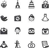 Wedding Silhouette Icons 1