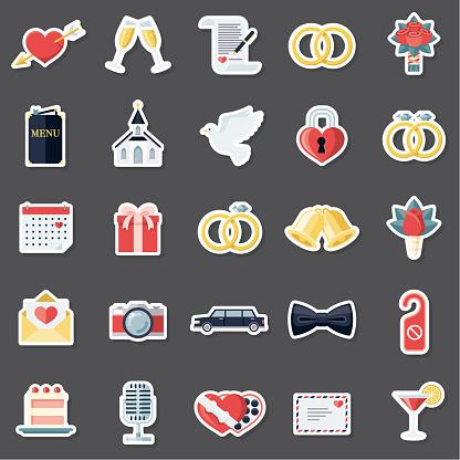 Wedding Sticker Set
