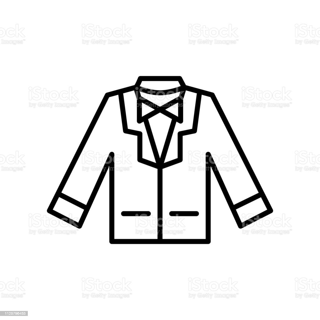 wedding suit icon. groom suit with bowtie for wedding party event...