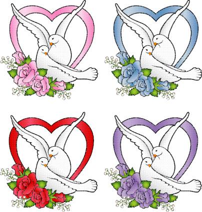 Wedding White Doves, Love Birds, Cake Topper, Romance