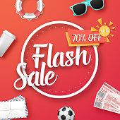 Weekend Sale Vector Poster